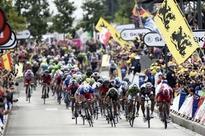 Cobbles cut as rain ups danger on Tour de France stage