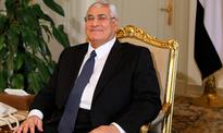 Adly Mansour bids Egyptians farewell after year in power
