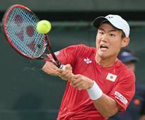 Rising star Nishioka stepping out of Nishikori's shadow