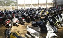 Mumbai students prefer to ride bikes to college