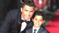 SEE PICS | Cristiano Ronaldo and son Junior pose in 'too cute' photoshoot