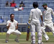 India vs Australia, Pune Test: Wonder spell from Steve O'Keefe hits hosts for six