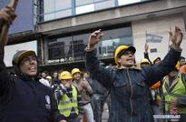 Workers rally for better working conditions in Buenos Aires