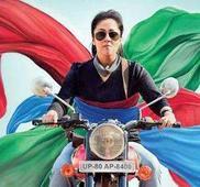 Jyothika in a biker woman avatar
