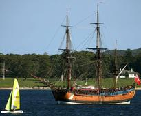 Wreckage of Captain Cook's ship Endeavour may be in U.S. harbor