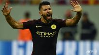 Football: Aguero hat-trick fires Man City in Champions League