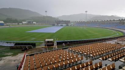 West Indies vs India: Play washed out on Day Three in St Lucia