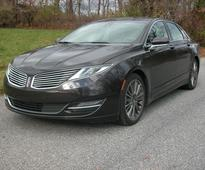Lincoln's MKZ sedan has distinctive styling with a hybrid option