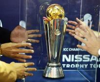 ICC Champions Trophy unveiled in Kolkata