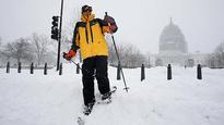 Monster snowstorm brings death and disruption to the US east coast