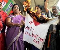 It is the season of love and here are bizarre bans of Hindutva bullies