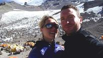 Mount Everest death: Maria Strydom's husband Robert Gropel vows not to leave Nepal without her body