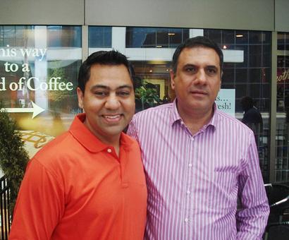 Spotted: Boman Irani in Toronto