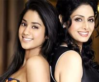 Sridevi holidaying with daughters