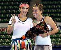 Sania-Strycova clinch Pan Pacific women's doubles title