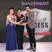 Designer Duo Bharat & Reshma Grover felicitated with Most Inspiring Success Stories Award