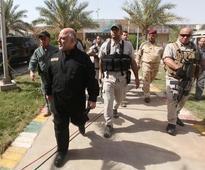 Iraqi PM sacks security chief, 6 state bank executives