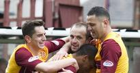 Motherwell open at Hibs