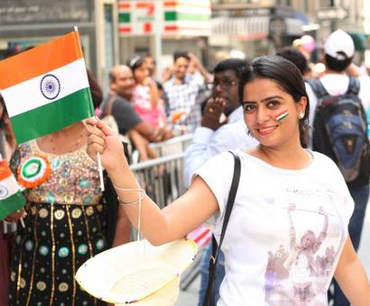 Band, bajaa and masti: Indians celebrate Independence Day in New York