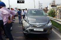 Arvind Kejriwal's car meets with accident, hits pilot vehicle in Jalandhar