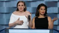Video: 'According to Trump I'm probably a rapist' - America Ferrera, Lena Dunham unload at Convention