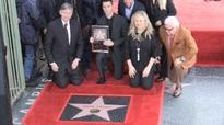 Maroon 5 singer Adam Levine presented with Hollywood Walk of Fame star