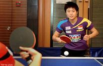 Table Tennis: Singapore's Feng enjoys the luck of the draw