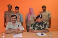 Two Maoists surrender before police in Odisha