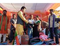 BJP banks on welfare schemes like Ujjwala to end Left's rule in Tripura