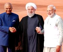 India, Iran sign pact on leasing port during Hassan Rouhani visit