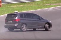 Video: BMW 2 Series Gran Tourer Drifts on the Nurburgring