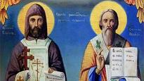 Holy Brothers Cyril and Methodius - co-patron saints of Europe