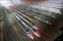 Red-eye bullet train from Shanghai to Beijing launches