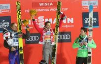 Stoch triumphs twice at ski jumping World Cup