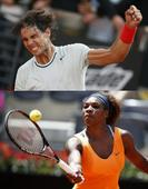 Rome Masters : Nadal and Serena extend winning streak to reach final
