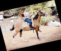 Tamannah Bhatia goes horse-riding