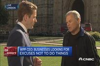 WPP CEO: Businesses need certainty after Brexit