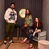 Aishwarya and Abhishek Bachchan ended 2017 with Gauri Khan!