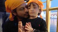 Check Pic: Shah Rukh Khan visits Golden Temple with little munchkin AbRam, says it is peaceful
