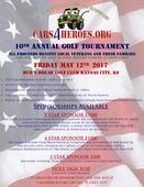 10th Annual Cars 4 Heroes Golf Tournament