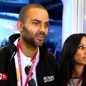 Tony Parker, Axelle Francine Welcome Baby Boy