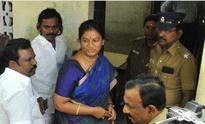 Sasikala Pushpa and her kin seek advance bail