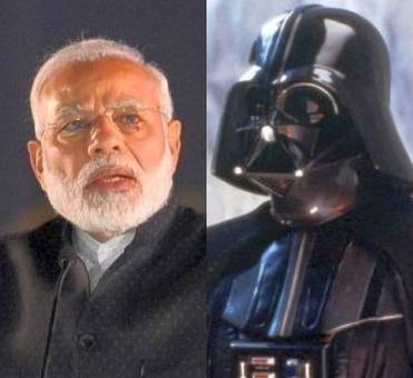 PM struts to villain DarthVader's theme at GST event evokes mixed reactions