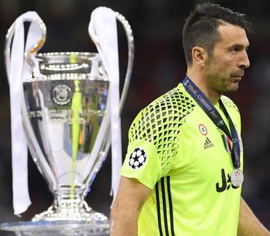 Buffon feels the pain after third final defeat