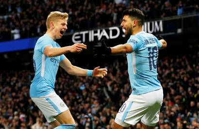 FA Cup PIX: Aguero scores twice in City win, Chelsea held by Norwich