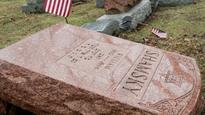 American-Muslims lead fundraiser to repair vandalised Jewish cemetery