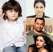 Here's what Deepika Padukone, Aamir Khan, Varun Dhawan, Kajol have to say about Shah Rukh Khan's son AbRam!