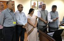 Shri Ravi Shankar Prasad Launches Transforming India Website