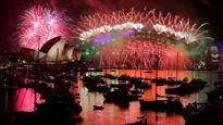 Happy New Year! Spectacular fireworks in Australia ushers in 2017