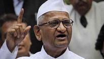 Will do Satyagraha till life in my body: Anna Hazare